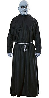 addams family uncle fester adult costume. Black Bedroom Furniture Sets. Home Design Ideas