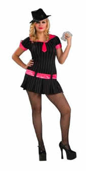 182a1da573e Gangsta Girl Plus Size Adult Costume  Dannystrixkix.com