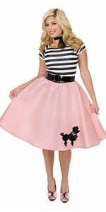 Poodle Skirt Adult Costume
