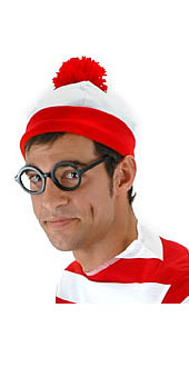 Where s Waldo  Beanie Hat  Dannystrixkix.com f645c6a6e8c