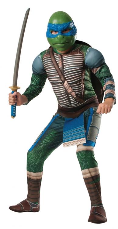 Teenage Mutant Ninja Turtles 2014 Movie Leonardo Child Costume Rubies 888957